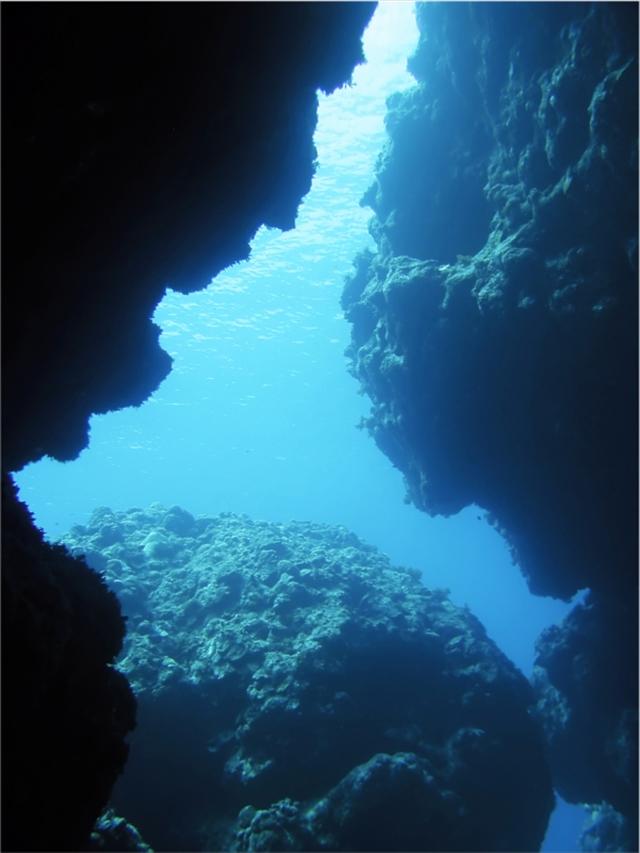 冬でも楽しめる青の洞窟